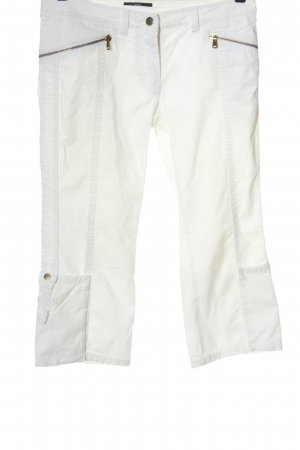 Hugo Boss Low-Rise Trousers white casual look