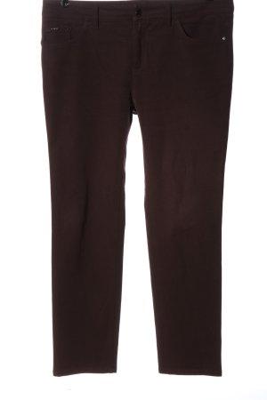 Hugo Boss Pantalon taille basse brun style décontracté
