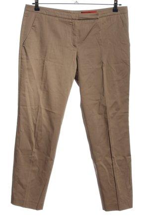 Hugo Boss Pantalone a vita bassa marrone stile casual