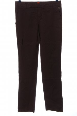 Hugo Boss Low-Rise Trousers brown casual look