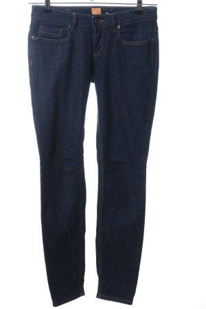 Hugo Boss Jeans vita bassa blu stile casual