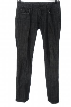 Hugo Boss Jeans vita bassa nero stile casual