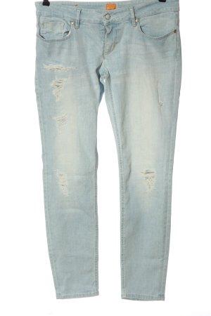 Hugo Boss Jeans taille basse bleu style décontracté