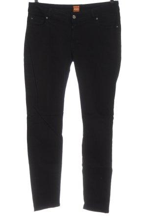 Hugo Boss Jeansy biodrówki czarny W stylu casual