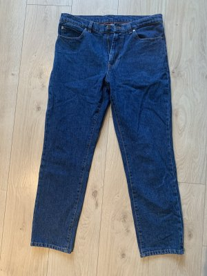 Hugo Boss Jeans carotte bleu-bleu foncé