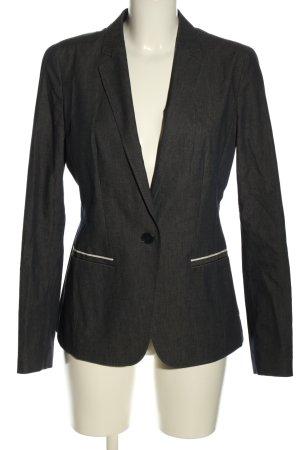 Hugo Boss Blazer vaquero negro-blanco Patrón de tejido estilo «business»