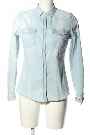 Hugo Boss Denim Shirt blue casual look