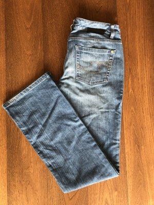 BOSS HUGO BOSS Boot Cut Jeans cornflower blue