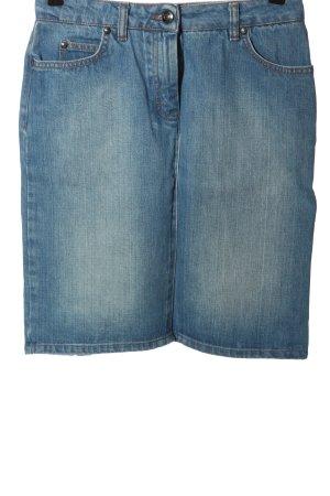Hugo Boss Jeansrock blau Casual-Look