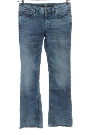 Hugo Boss Jeansowe spodnie dzwony niebieski W stylu casual