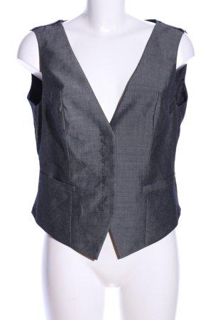 Hugo Boss Jersey Twin Set silberfarben Webmuster Business-Look