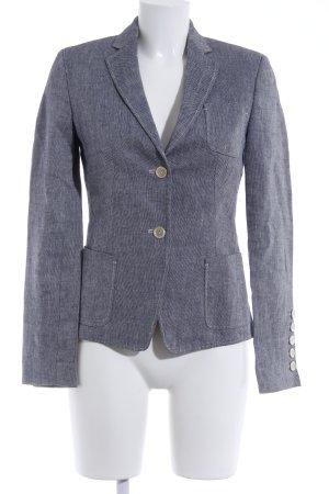Hugo Boss Jerseyblazer dunkelblau-weiß Business-Look
