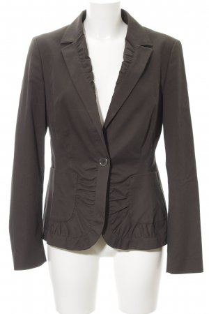 Hugo Boss Jerseyblazer taupe Casual-Look