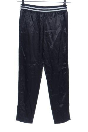 Hugo Boss Pantalón de pinza alto negro look casual