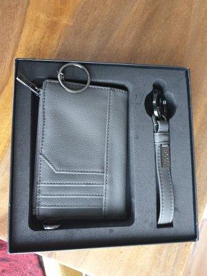 Hugo Boss Porte-cartes gris