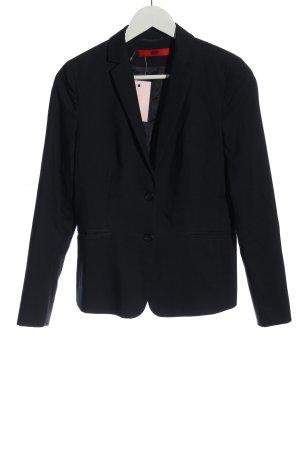 Hugo Boss Klassischer Blazer zwart zakelijke stijl