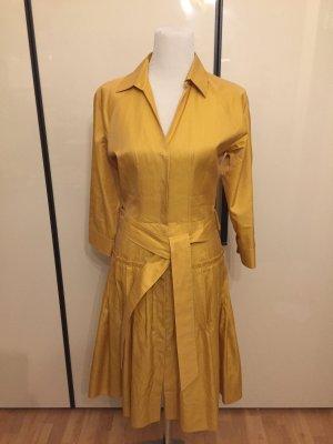 Hugo Boss Geklede jurk abrikoos