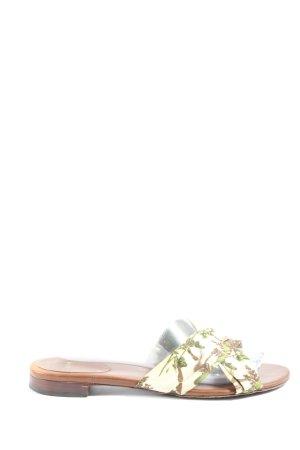 Hugo Boss Comfortabele sandalen abstract patroon casual uitstraling