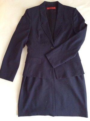 Hugo Boss Ladies' Suit dark blue-blue