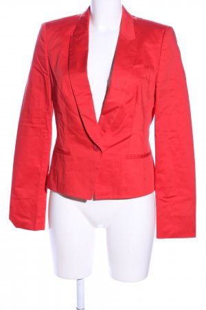 Hugo Boss Kurz-Blazer rot Business-Look