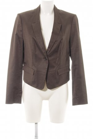 Hugo Boss Kurz-Blazer bronzefarben Business-Look