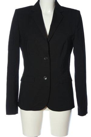 Hugo Boss Blazer en laine noir style d'affaires