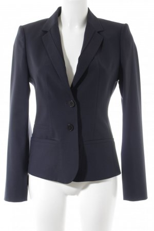 Hugo Boss Kurz-Blazer dunkelblau Business-Look