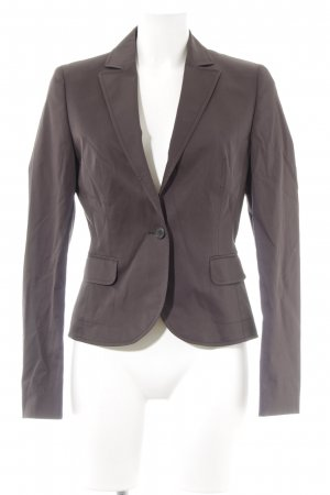 Hugo Boss Kurz-Blazer graubraun Business-Look