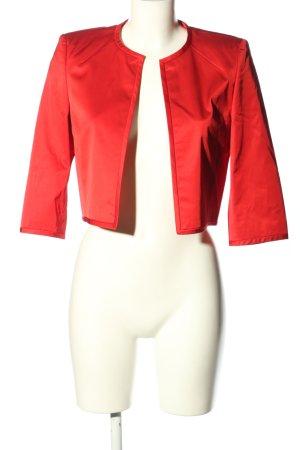 Hugo Boss Korte blazer rood zakelijke stijl
