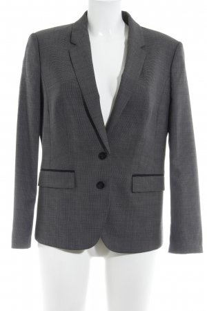 Hugo Boss Kurz-Blazer schwarz-grau Karomuster Business-Look