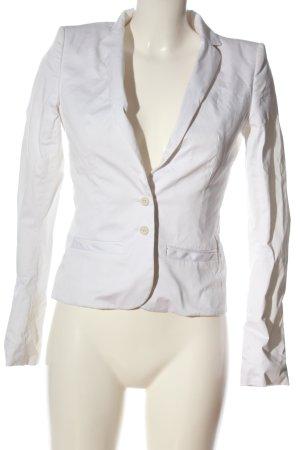 Hugo Boss Krótka marynarka biały W stylu casual
