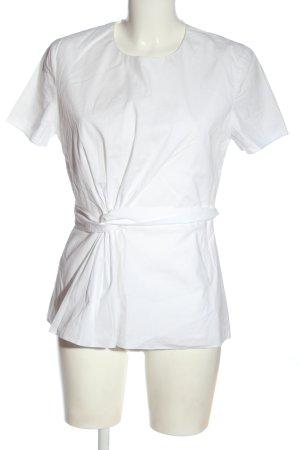 Hugo Boss Bluzka z krótkim rękawem biały Elegancki