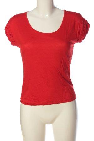 Hugo Boss T-Shirt rot Casual-Look