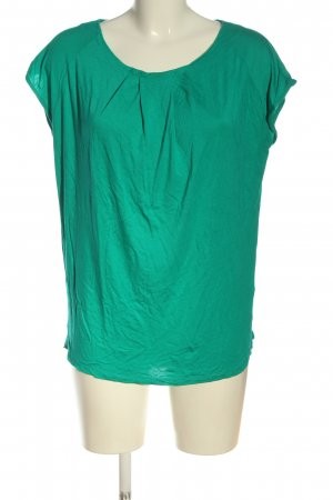 Hugo Boss Kurzarm-Bluse grün Casual-Look