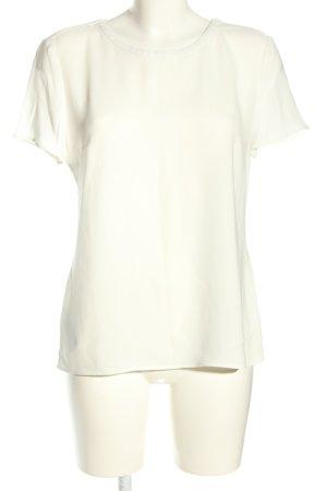 Hugo Boss Bluzka z krótkim rękawem kremowy W stylu biznesowym