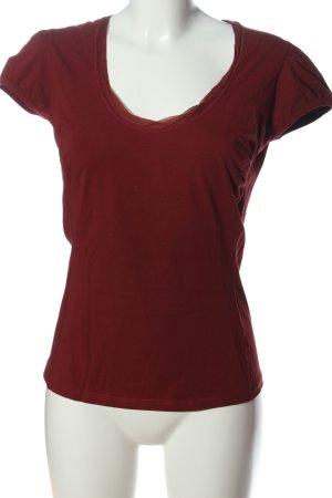 Hugo Boss T-Shirt braun Casual-Look