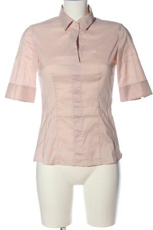 Hugo Boss Shirt met korte mouwen roze casual uitstraling