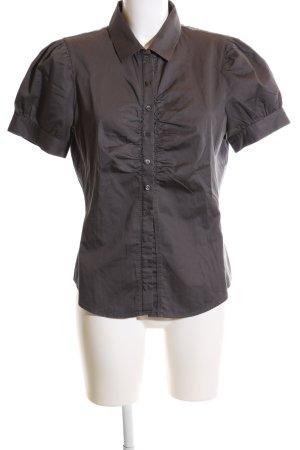 Hugo Boss Shirt met korte mouwen zwart casual uitstraling