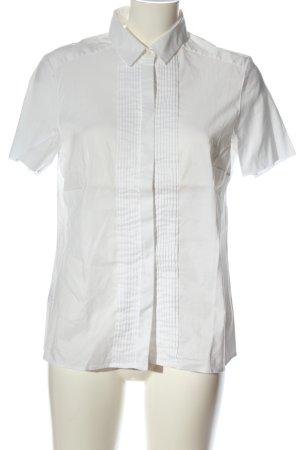 Hugo Boss Shirt met korte mouwen wit casual uitstraling