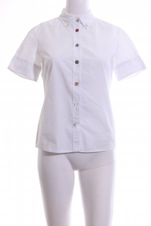 Hugo Boss Shirt met korte mouwen wit zakelijke stijl