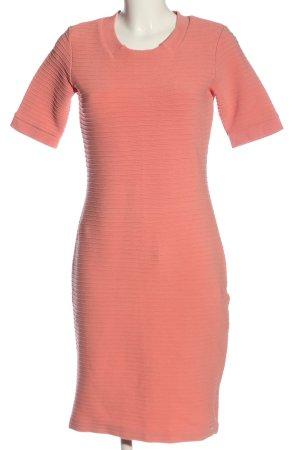 Hugo Boss Kurzarmkleid pink Casual-Look
