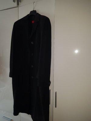 Hugo Boss Lange blazer zwart