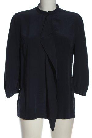 Hugo Boss Bluzka z długim rękawem czarny W stylu biznesowym