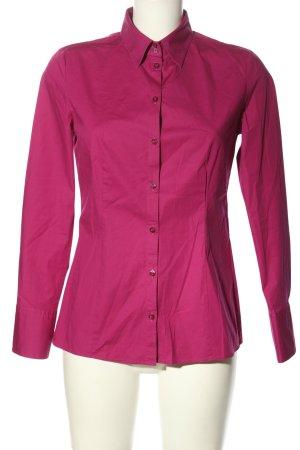 Hugo Boss Langarmhemd pink Business-Look