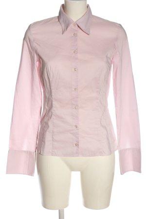 Hugo Boss Chemise à manches longues rose style décontracté