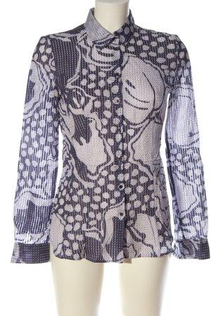 Hugo Boss Camisa de manga larga estampado con diseño abstracto elegante