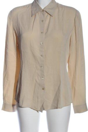 Hugo Boss Langarmhemd creme Casual-Look