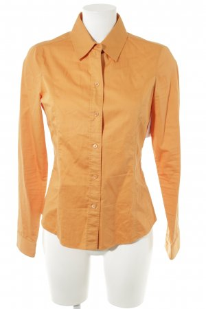 Hugo Boss Langarmhemd orange Business-Look