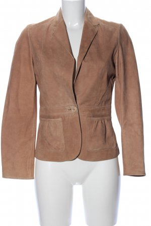 Hugo Boss Blazer in pelle marrone stile casual