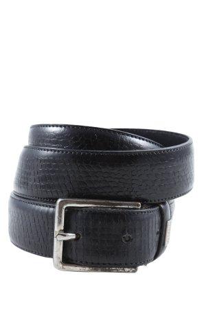 Hugo Boss Cintura di pelle nero stile casual